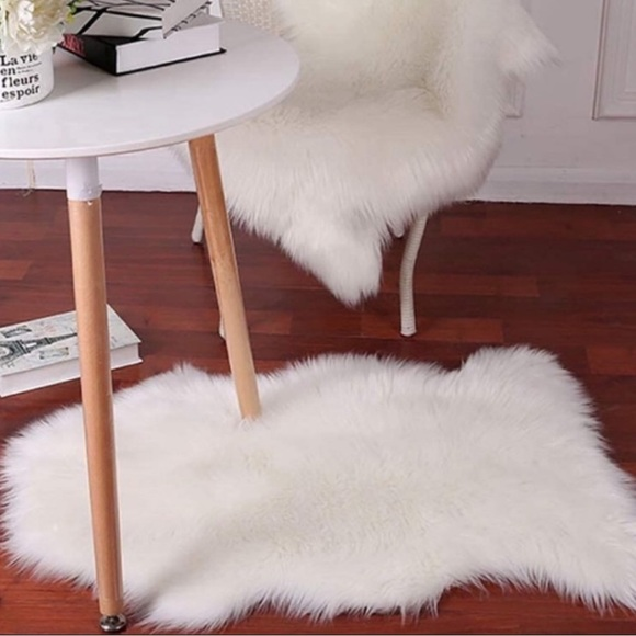 Luxury Soft Faux Sheepskin Area Rugs New